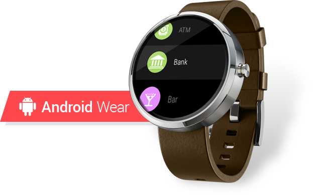 Find Near Me for Android Wear